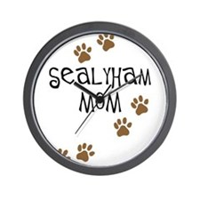 Sealyham Mom Wall Clock
