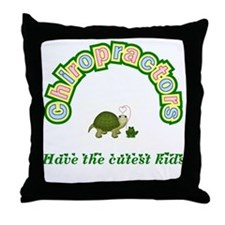 Chiropractor Throw Pillow