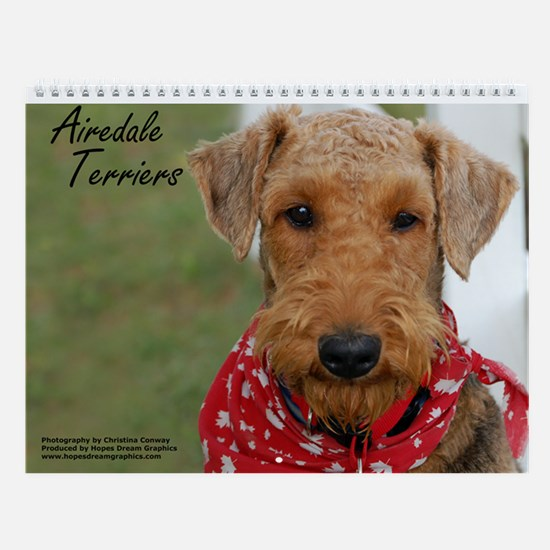 Airedale Terrier Wall Calendar