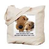 Airedale terriers Totes & Shopping Bags