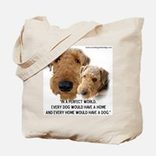 Unique Terrier Tote Bag