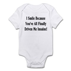Insaine! Infant Bodysuit