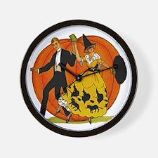 Halloween Dance Wall Clock