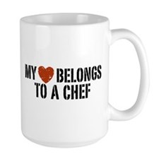 My Heart Belongs to a Chef Mug