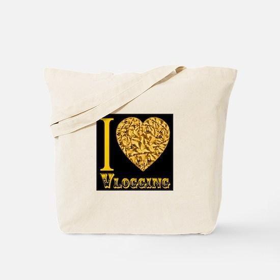 I love Vlogging Tote Bag
