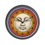 Buddha Face Wall Clock