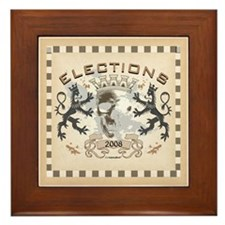 Elections Framed Tile