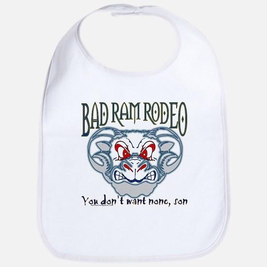 """BAD RAM RODEO"" Bib"