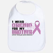 Epilepsy Purple For Brother Bib