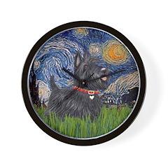Starry - Scotty (#15) Wall Clock