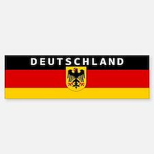 """Germany """"Deutschland"""" Car Bumper Bumper Sticker"""
