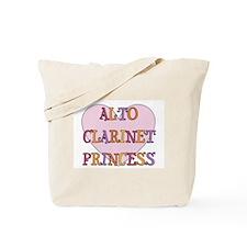 Alto Clarinet Princess Tote Bag
