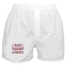 Alto Clarinet Princess Boxer Shorts