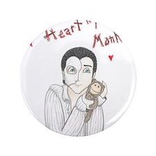 "I heart my monkey 3.5"" Button"