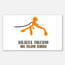 Kilauea Brushstroke Rectangle Decal