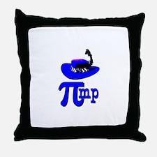 Pi Pimp Throw Pillow
