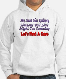 My Aunt has Epilepsy, find a cure Hoodie