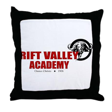 Rift Valley Banner Throw Pillow