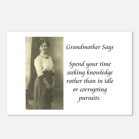 Grandmother Says 1 Postcards (Package of 8)