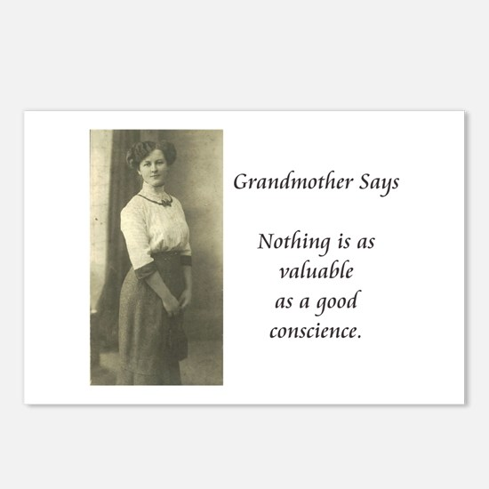 Grandmother Says 2 Postcards (Package of 8)