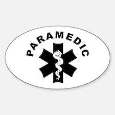 Paramedic Star Of Life Decal
