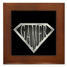 SuperGamer(metal) Framed Tile