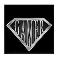 SuperGamer(metal) Tile Coaster