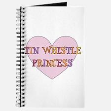 Tin Whistle Princess Journal