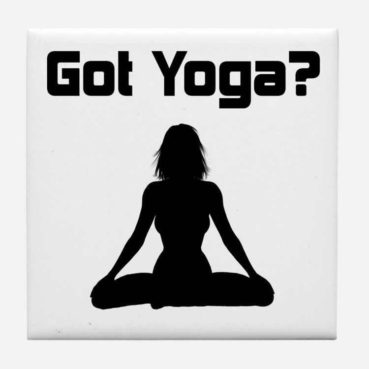 Got Yoga Tile Coaster