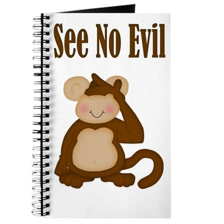 See No Evil Monkey Journal