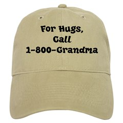 Grandma Hugs Baseball Cap