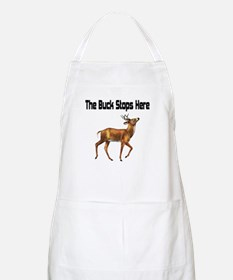 The Buck Stops Here BBQ Apron