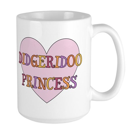 Didgeridoo Princess Large Mug