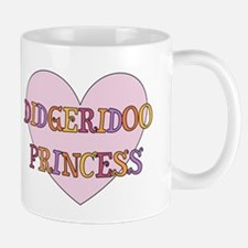 Didgeridoo Princess Mug