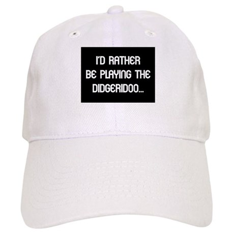 Rather be playing my didgerid Cap