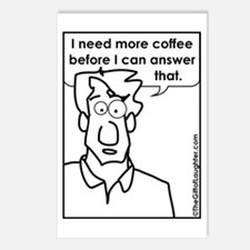 Funny Workplace humor Postcards (Package of 8)