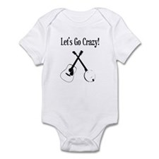 Guitar and Banjo Infant Bodysuit