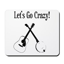 Guitar and Banjo Mousepad