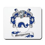 Monypenny Family Crest Mousepad