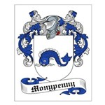 Monypenny Family Crest Small Poster