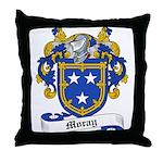 Moray Family Crest Throw Pillow
