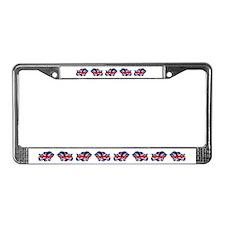 British Bulldog License Plate Frame