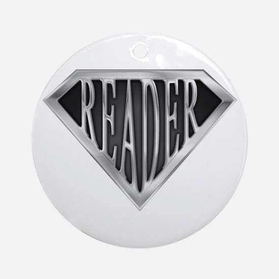 Book Lovers Christmas Ornament  CafePress