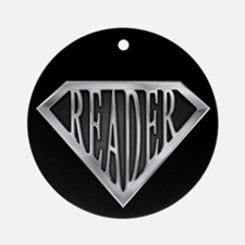 SuperReader(metal) Ornament (Round)