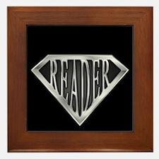 SuperReader(metal) Framed Tile