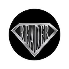 "SuperReader(metal) 3.5"" Button (100 pack)"
