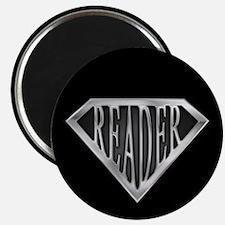 """SuperReader(metal) 2.25"""" Magnet (10 pack)"""