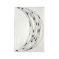 Celtic Moon Rectangle Magnet (10 pack)