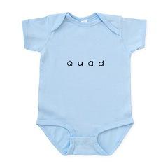 quad Infant Bodysuit