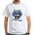Morrison Family Crest White T-Shirt